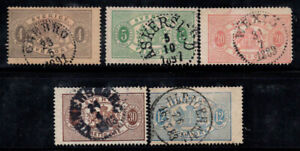 Sweden 1874 Used 80% postage due the coat of arms
