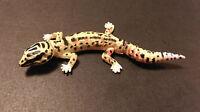 Kaiyodo Furuta Choco Q Pet 1 Yellow Spotted Leopard Gecko Lizard Figure