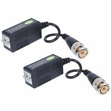 Video Passive Balun BNC Transceiver for 1080P 3MP 4MP 5MP HD-TVI/CVI/AHD/Analog