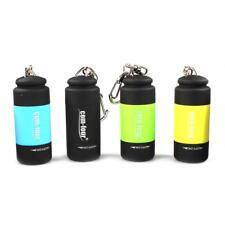 4x USB Mini LED Taschenlampe wiederaufladbar wasserdicht Schlüsselanhänger Mix 1