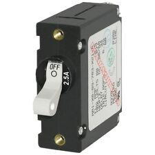 Blue Sea Systems 7197 7917 A-Series White Toggle Circuit Breaker Single Pole