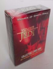 STAR WARS YOUNG JEDI MENACE OF MAUL CARD GAME 30 CARD STARTER DECK NEW & SEALED