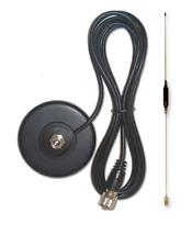 KIT ANTENNA HAM-Magnetic Montaggio & Antenna (Dual Band) 2 M & 70 cm