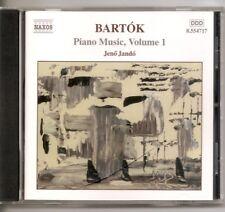Bart¢k: Piano Music, Vol. 1 (CD, Jul-2001, Naxos (Distributor))