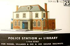 SQ25  SUPERQUICK POLICE STATION or PUBLIC LIBRARY   B25     KIT
