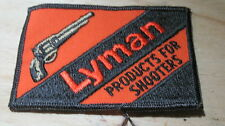 """Lyman """"Products for Shooters"""" Gun Patch"""