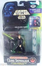 Star Wars Luke Skywalker F/x Spada luminosa Action Figure Scenario Kenner MISB