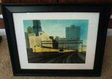 C&NW - Chicago and Northwestern Artist Rendition Print (CNW)