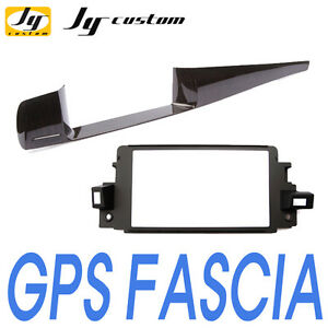 """GPS Wood Fascia Audio 7"""" Integrated For 10 11 Renault Latitude : New SM5"""
