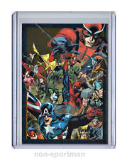 MARVEL UNIVERSE 2014 SET OF 90 CARDS