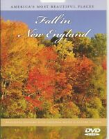 AMERICAS MOST BEAUTIFUL PLACES FALL IN NEW ENGLAND CHANGE OF SEASON NATURE DVD