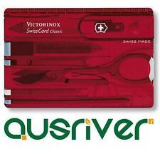 Victorinox Cyber SwissCard Lite - Ruby Swiss Army Knife 0.7100.T Pocket Card