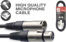 Stagg Mic Cable XLR-XLR - 3 Metre