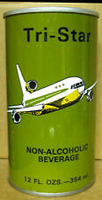 TRI-STAR NON-ALCOHOLIC BEVERAGE Beer CAN for SAUDI ARABIA NEW JERSEY 1+ AIRPLANE