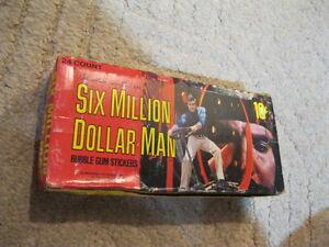 1975 Donruss The Six Million Dollar Man: (14) wax packs