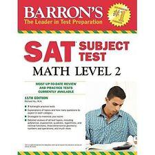 Sat Subject Test Math: Level 2 by Richard Ku (11th Edition)