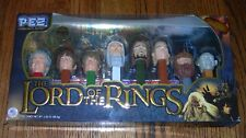 Lord of the Rings PEZ - Limited Edition Collector's Set of 8 NEW