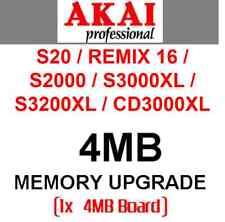 4MB Sample Memory Upgrade RAM - AKAI S20 S2000 S3000XL S3200XL CD3000XL MPC XL