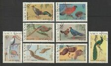 Vietnam Stamp Complete Set Ornamental Birds Collection Scott # 1009 - 1016