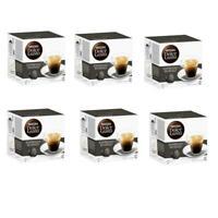 6 x Nescafe Dolce Gusto Espresso Intenso Coffee Capsules 96 Pods BBE 31/03/20