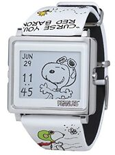 EPSON W1-PN20310 Smart Canvas PEANUTS Snoopy Flying Ace Wrist Watch