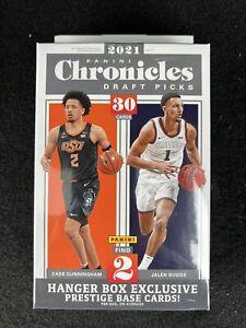 2021 Panini Chronicles NBA Draft Picks HANGER Box New Factory Sealed