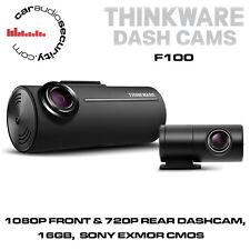 Thinkware F100 1080P Front & 720P Rear Dashcam, 16GB, G Sensor, Sony EXMOR CMOS