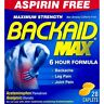 Backaid Max Maximum Strength Caplets Non Drowsy Acetaminophen 28 Count, 1 Pack