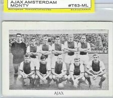 1963 Monty Gum Ajax Team / MEGA RARE CARD!