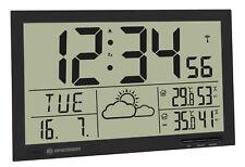 ️286309 - Bresser Orologio da parete Meteorologico MyTime Jumbo LCD Nero B017n
