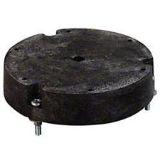 Carlisle 5 in. Plastic Riser Block, Black 6-1/2 In Diameter 1-7/16 In H 361726S