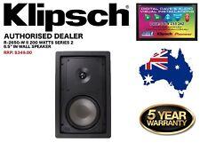 """Klipsch R-2650-W II 200 Watts, 6.5"""" In-Wall Speaker (Series 2) RRP: $349"""