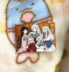 Inuyasha Sesshomaru Metal Badge Brooch Pin Family Limited