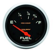 """Auto Meter 5416 2-5/8"""" Fuel Level Gauge 73-10 Ohms Air-Core Pro-Comp"""
