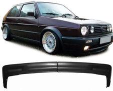 FRONT SPLITTER BUMPER LIP SPOILER FOR VW GOLF MK2 II 2 HATCHBACK GL WIDE BUMPER