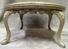 GEO BERRY FURNITURE & CARPET CARBONDALE PA Antique Cast Iron & Wood Stool