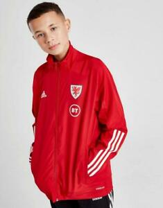 New adidas Boys' Wales Condivo 20 Presentation Jacket from JD Outlet