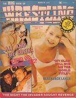 The Big book of Wrestling Blackjack Lanza  no poster VG 040416DBE