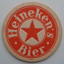 HEINEKEN RED BEER MAT HEINEKEN'S BIER VINTAGE