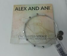 ALEX and ANI Uncharted Voyage White Water Odyssey Bangle BRACELET NWT