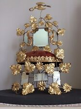 Antique French Victorian Bridal Marriage Wedding Stand~1800s Original~Collectors
