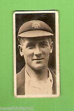 #D232. 1928  AUSTRALIA & ENGLISH TEST CRICKETERS  CIG.CARD #18  H. LARWOOD