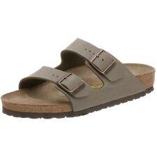 New Birkenstock 151213 Women's Arizona Birkibuc Sandals, Stone, 42 N EU