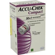 ACCU CHEK Compact Teststreifen 50 St