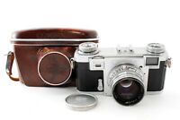 Excellent ZEISS IKON Contax IIa RF Color Dial 35mm + Zeiss Sonnar f1.5#749762