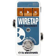TC Electronic*WireTap Riff Recorder*Guitar Pedal Bluetooth Stompbox FREE2DAY NEW