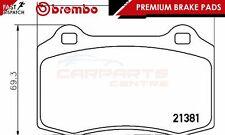 BREMBO GENUINE ORIGINALE PREMIUM SET PASTIGLIE FRENO PADS asse posteriore P36020