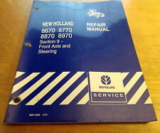 Ford New Holland 8670 8770 8870 8970 Front Axle Steering Service Repair Manual