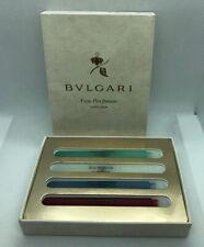 Bvlgari Eau Parfumee Collection De Cologne Au The Vert Blanc Bleu Rouge 3ml X 4