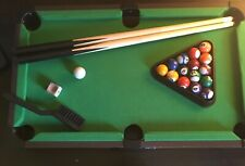 Miniature 20-Inch Table Top Billiard/Pool Game Set